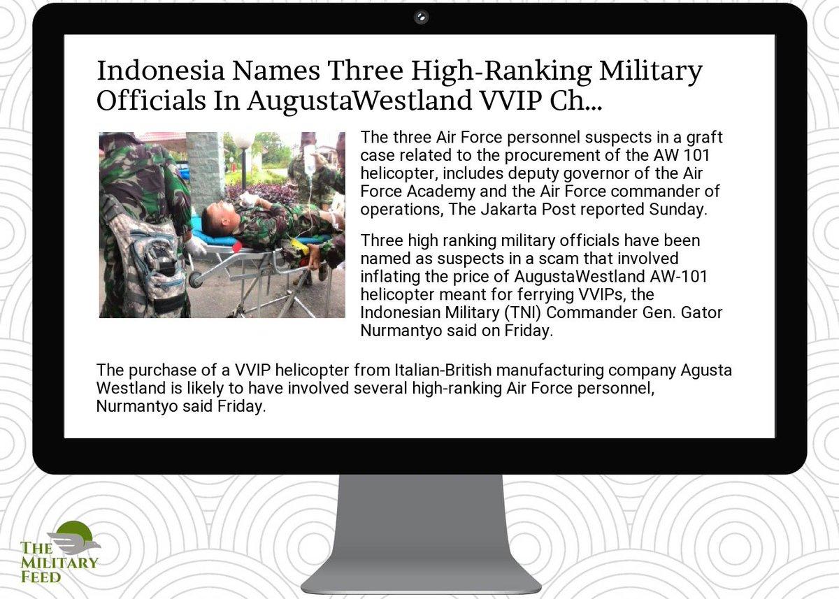 http:// goo.gl/Ggu1EN  &nbsp;   for #Defense #News ; indonesia names three high- #ranking military  #officials in  #augusta #westla<br>http://pic.twitter.com/8z7v1x0mwx