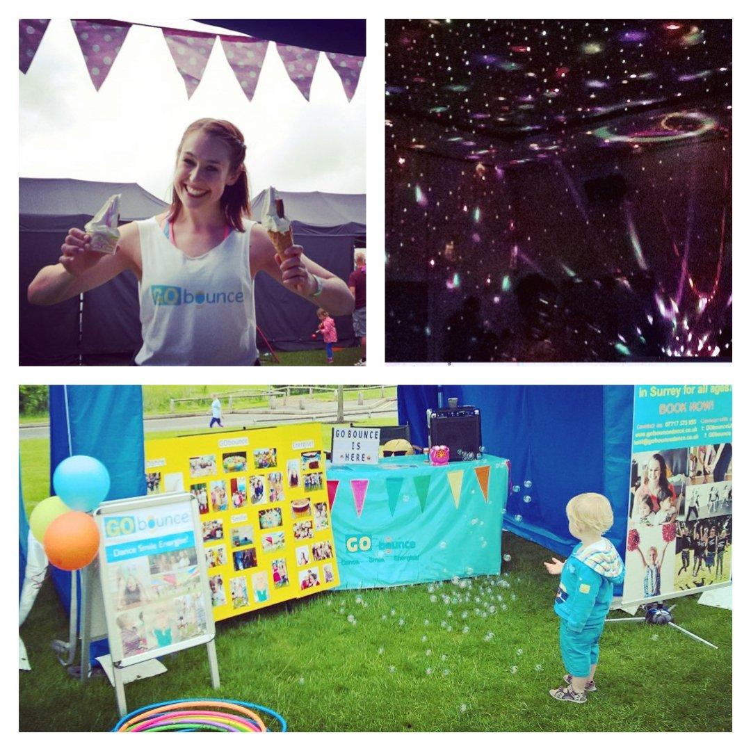 Day 2 @gofestuk @Surreysportpark! Rain won&#39;t stop us having fun  #bubblefun #gofestuk #dance #disco #workshops #totsdance #happymonday<br>http://pic.twitter.com/s8zct7d0V7