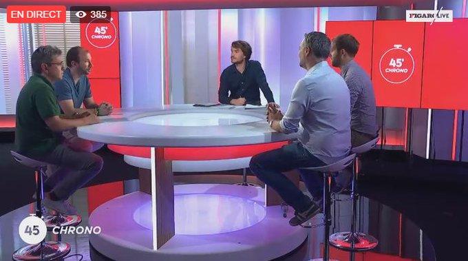 🎾 45' Chrono, le debrief sport du week-end c'est en direct sur #FigaroLive. N'hésitez pas à poser vos questions >> https://t.co/8hc7jdOOeb