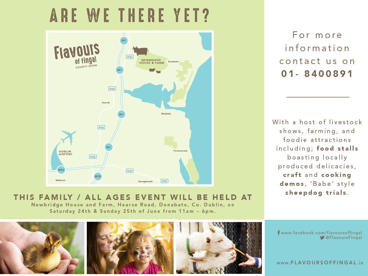 Save the date for the Flavours of Fingal - Events in Fingal