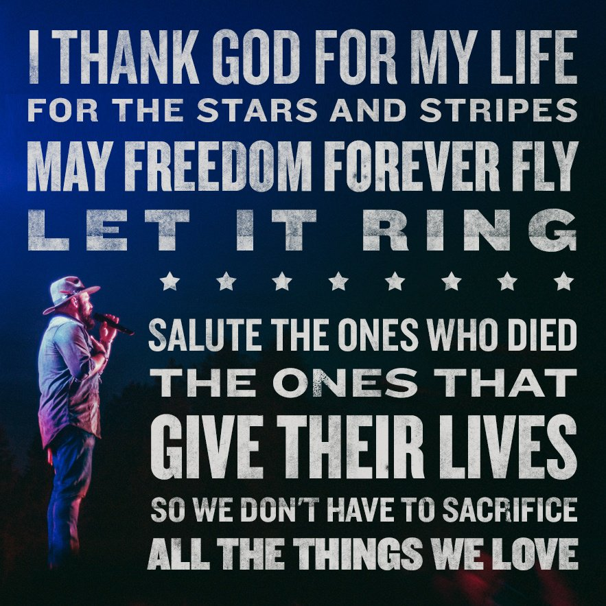 Home of the free because of the brave. Thank you! https://t.co/hq0V0h9JBy
