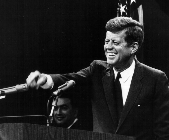 Today would have been Pres. John F Kennedy's 100th birthday. More photos -> https://t.co/zuYjroSmMo  #JFK100