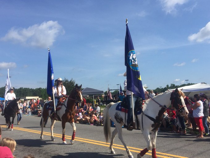 How are you spending #MemorialDay? Dacula's annual parade is underway.