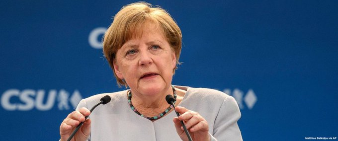 Merkel suggests Europe can't count on US, UK as in past: 'Europeans must really take our fate into our own hands.' https://t.co/v1oP3MTCYs