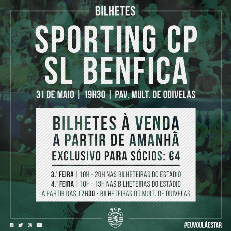 É já na próxima 4ª feira que os Leões do #AndebolSCP podem sagrar-se campeões nacionais! 💪  Vamos, encher o Pavilhão Multiusos de Odivelas!