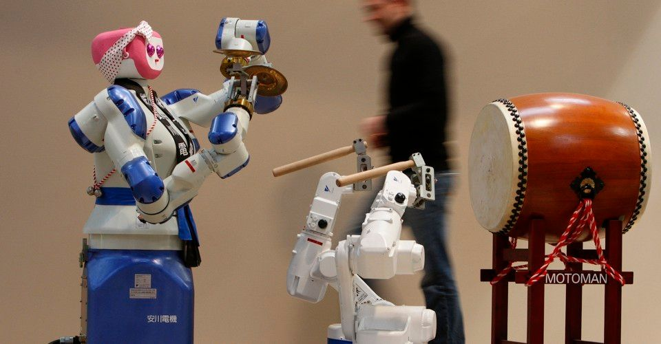 Can #machine that Replace Humans?  http:// buff.ly/2qz3Z87  &nbsp;    #robotics #defstar5 #makeyourownlane #Mpgvip #infosec #AI #robots #AUTOMATION #ML<br>http://pic.twitter.com/cdRueY0y7q
