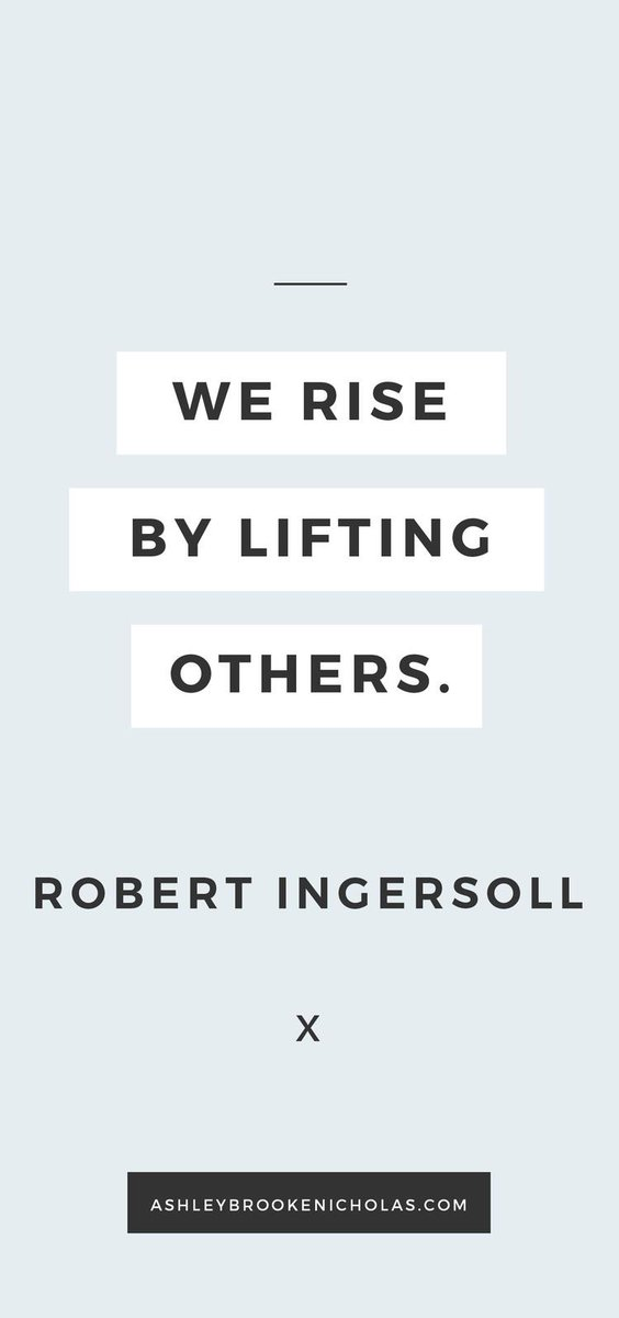 We rise by lifting others. . #inclusion #mondaymotivation #disAbility #disabilityrights #allmeansall #qotd #equality #respect #education<br>http://pic.twitter.com/O1To5pRLOW