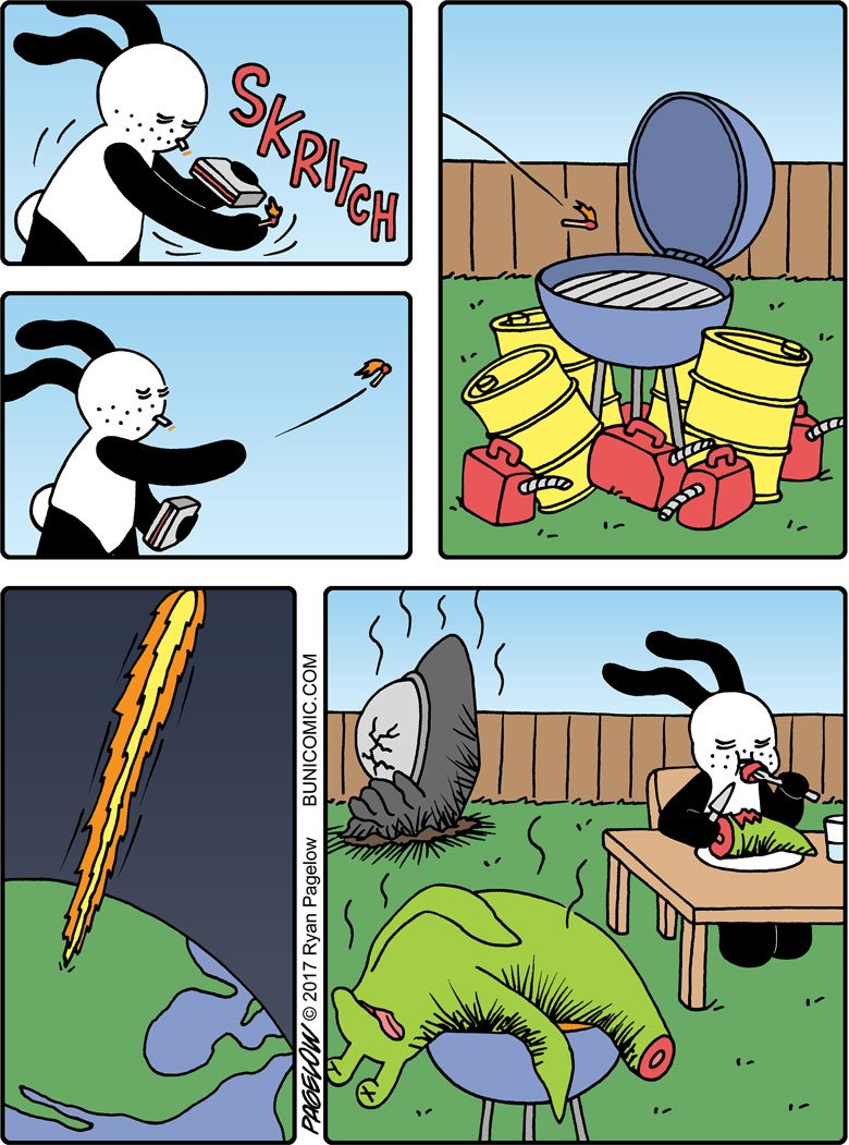 Out of this world barbecue  http://www. bunicomic.com/comic/buni-980/  &nbsp;   #bbq #barbecue #comics<br>http://pic.twitter.com/7rYU8b6l6I
