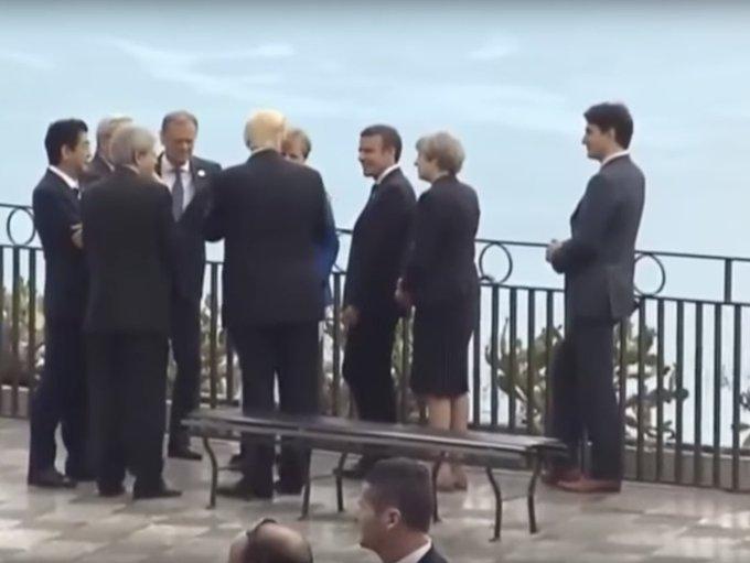 VIDÉO – Solitude : Quand Trudeau est écarté de la discussion du G7 >> https://t.co/uOimthC8wY