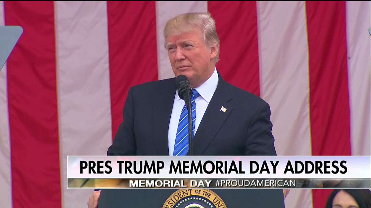 .@POTUS: 'Thank you General Dunford, Secretary Mattis for your moving words and your service to our great nation.'
