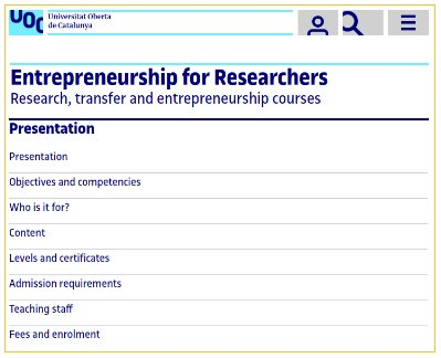 Promoting #entrepreneurship &amp; #innovation @UOCuniversity: #SpinUOC event &amp; course for #researchers #UOCphdRTEC  http:// studies.uoc.edu/en/doctoral-pr ogrammes/entrepreneurship-researchers/presentation &nbsp; … <br>http://pic.twitter.com/GVa9vdq6ba