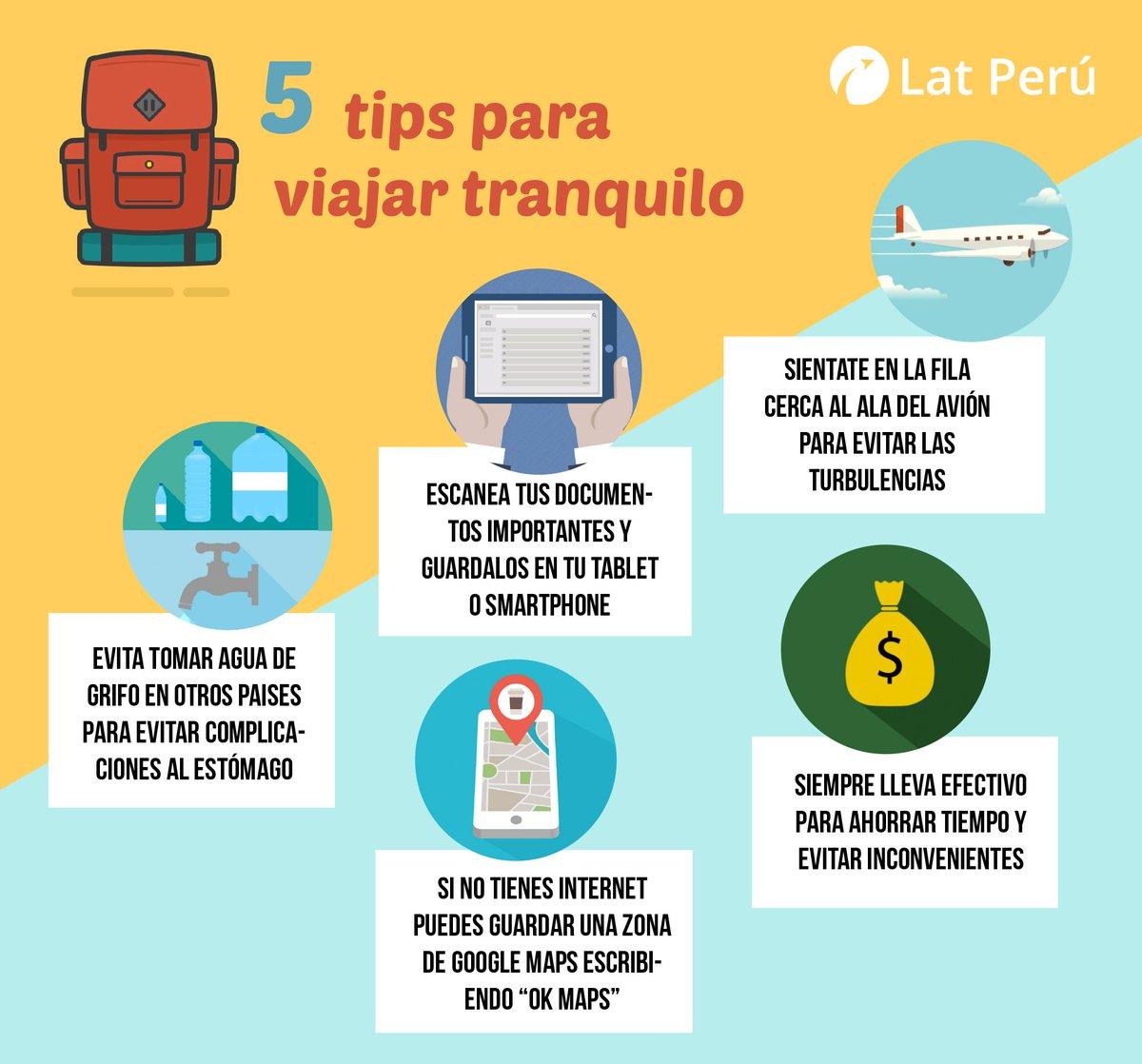 "Lat Perú on Twitter: ""Preparándote para viajar al #extranjero ..."