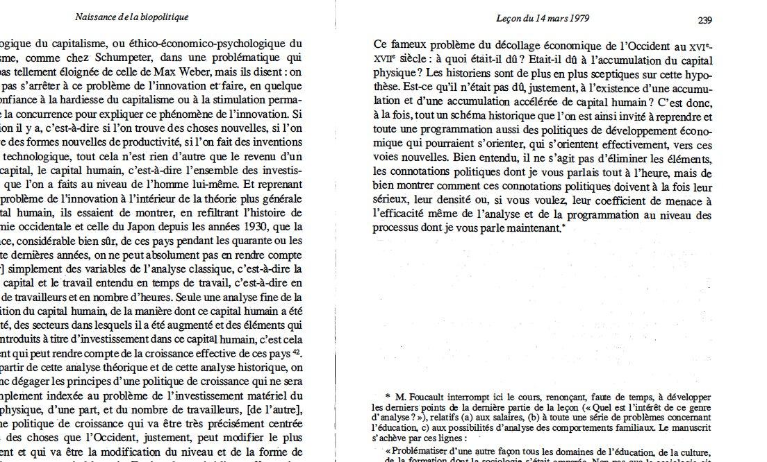 naissance de la biopolitique la cours au college de france 1978 1979