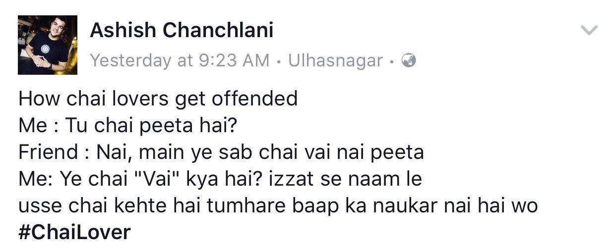 Ashish Chanchlani on Twitter: