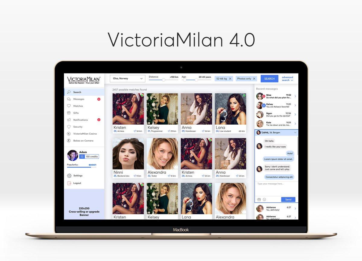 victoria milan app center