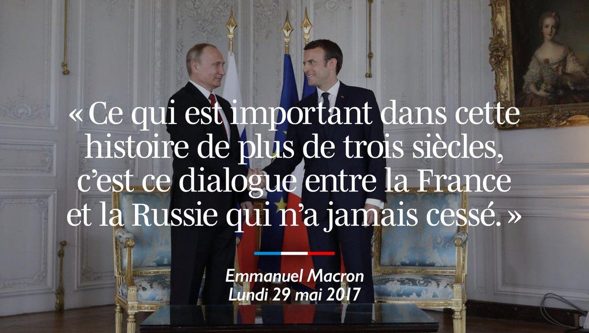 Ce qui est important dans cette histoire de plus de trois siècles, c'est ce dialogue entre la France et la Russie qui n'a jamais cessé.