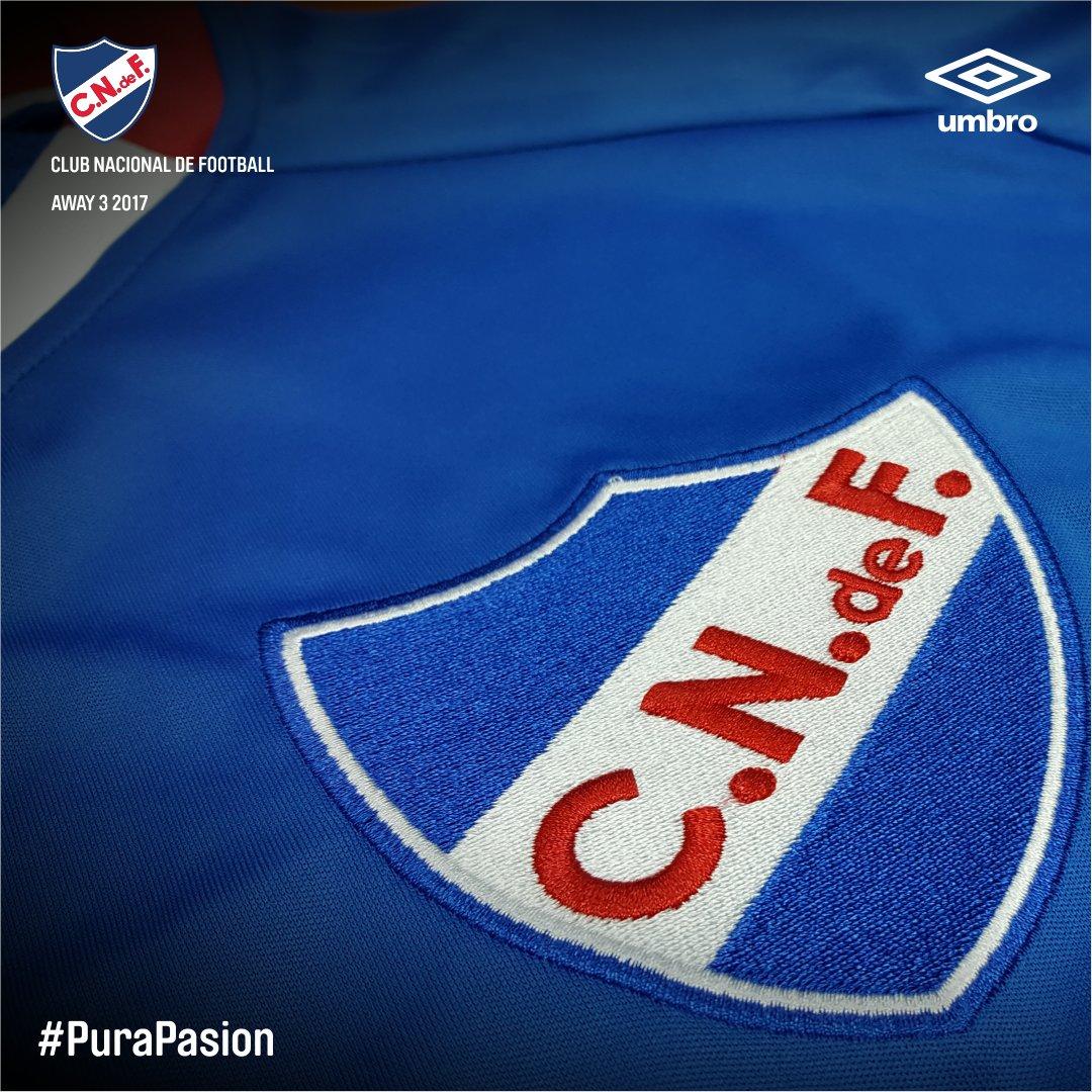 Nacional presentó su nueva camiseta alternativa Umbro para la temporada 2017/18