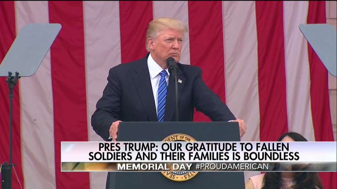 .@POTUS: 'The unknown soldiers. We do not know where they came from, who they left behind or what they hope to be.'