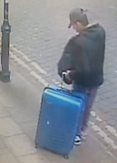 Breaking: Salman Abedi pictured with suitcase in Manchester city centre.  https://t.co/1De9VYFd4O