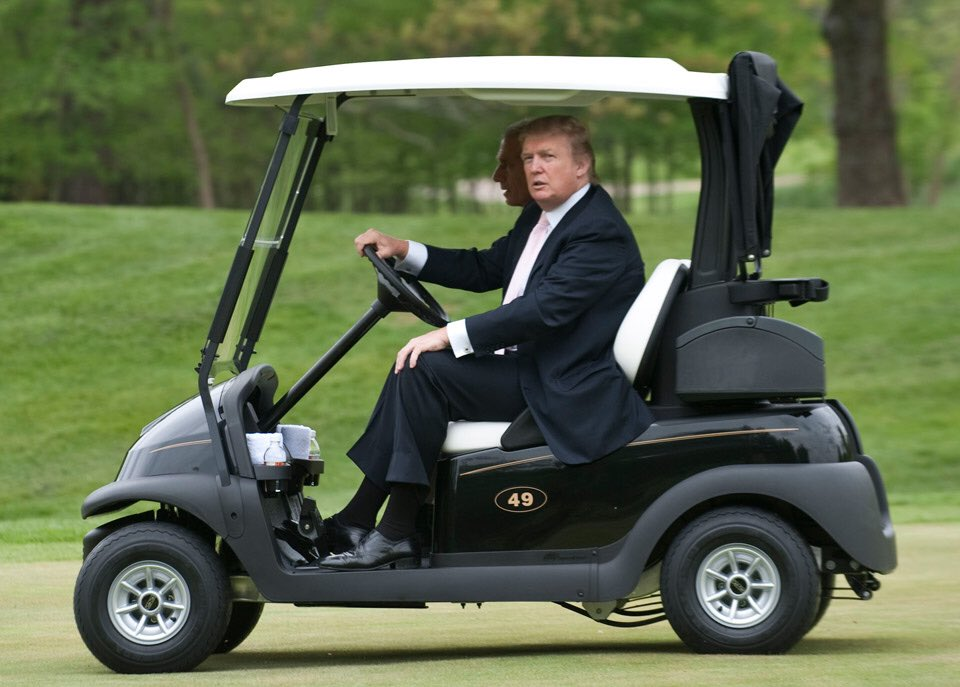 'Get in, loser, we're undermining democracy.'