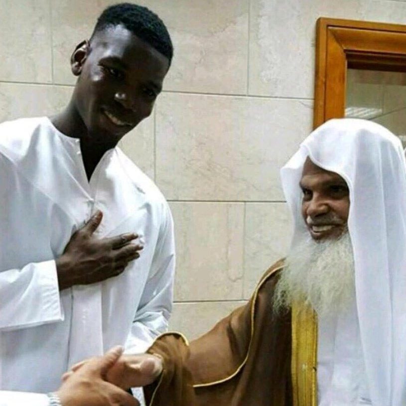 #Sheikh #Hudaify &amp; #Pogba in #Madinah during #Ramadan <br>http://pic.twitter.com/fVr9PM7Ym2