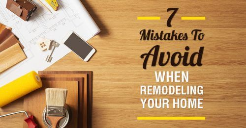 7 Mistakes to Avoid When Remodeling Your Home.  http:// buff.ly/2qs5Ufo  &nbsp;   via @JohnRHamilton2 #renovations #realestate <br>http://pic.twitter.com/Rji6H1aw3w