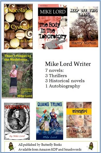 Mike's seven novels available from:   https://www. amazon.com/author/mikelord  &nbsp;    https://www. smashwords.com/profile/view/L ordmike &nbsp; …    http://www. lordmaity.com  &nbsp;    #Action #Murder #Travel #IAN1<br>http://pic.twitter.com/LHk9laNMLd