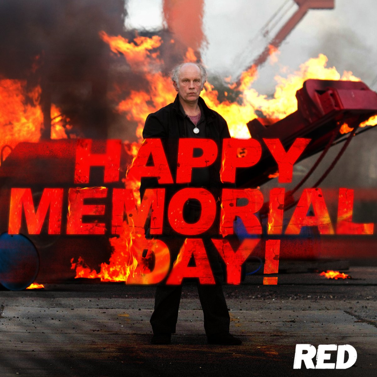 Don't let your BBQ get out of hand this #MemorialDay.  #RED <br>http://pic.twitter.com/Pgvgf3rhFG