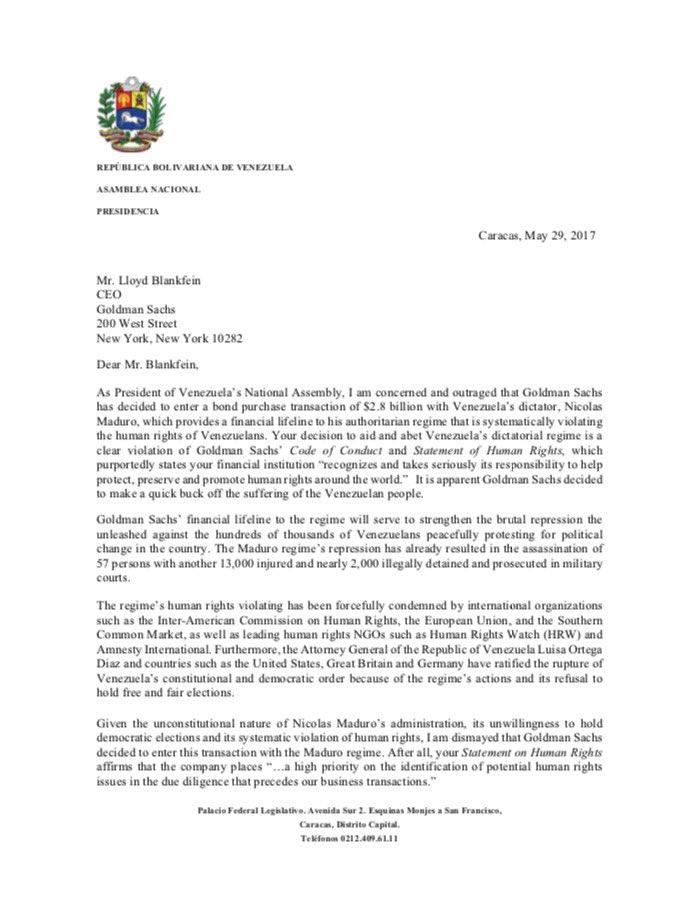 Toda deuda que adquiera la Nación sin aprobación de la @AsambleaVE será INEXISTENTE https://t.co/f9nIx4OSkQ