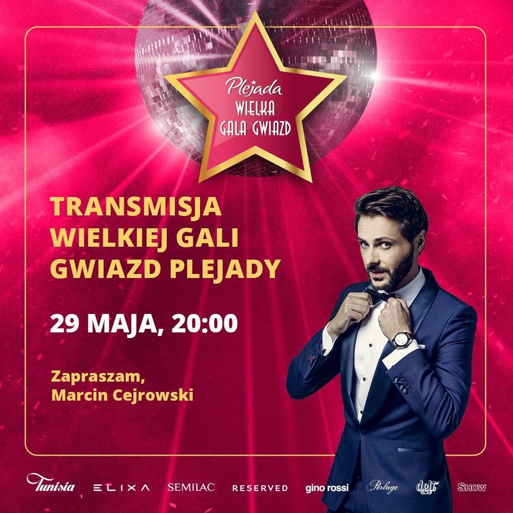 Już za chwilę zaczynamy! Wielka Gala Gwiazd @Plejadapl czeka na Was #Plejada #WGGP #GalaPlejady pic.twitter.com/T8z8whP7XH