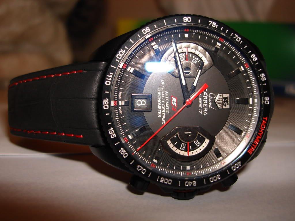 Часы tag heuer grand carrera сalibre 17 - механические часы с автоподзаводом.