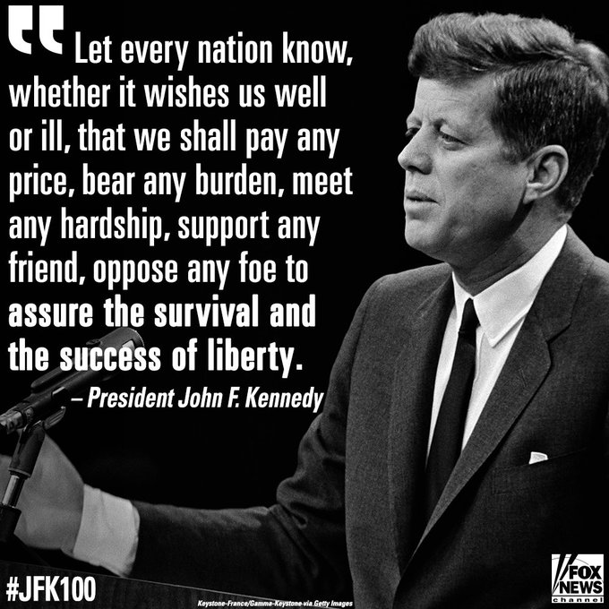 This Day in History: Today marks President John F. Kennedy's 100th birthday.