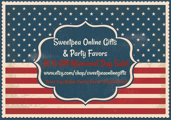 Our Annual Memorial Day Sale is on now!  https://www. etsy.com/shop/sweetpeao nlinegifts &nbsp; …  #memorialdaysale #epiconetsy #etsymntt #etsysocial #etsychaching #buzzfeed<br>http://pic.twitter.com/sI5HksLNvy