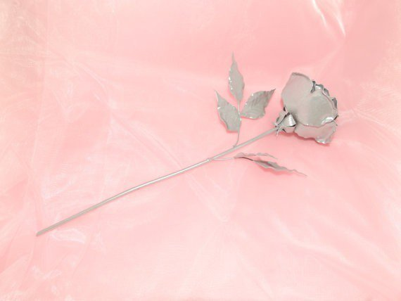 Custom Order #Sterling #Silver #Handmade 12 in Long Stem #Rose  http:// etsy.me/1PTaiix  &nbsp;   #wedding #Romantic #gift<br>http://pic.twitter.com/FX9QohRZOb