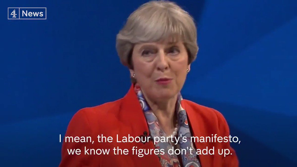 Theresa May is heckled by members of a live TV audience while discussing education budgets. #BattleForNumber10