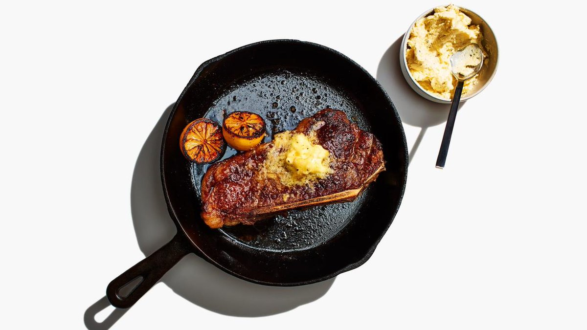 When life gives you lemons...make this steak with lemon butter