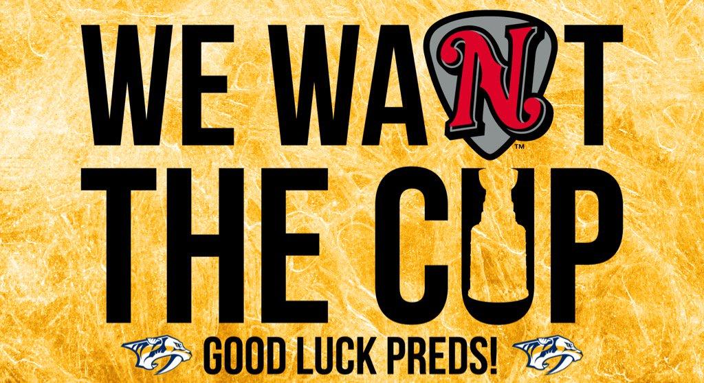 Let's Go @PredsNHL!   #StandWithUs #StanleyCupFinal https://t.co/cOex10XRoc