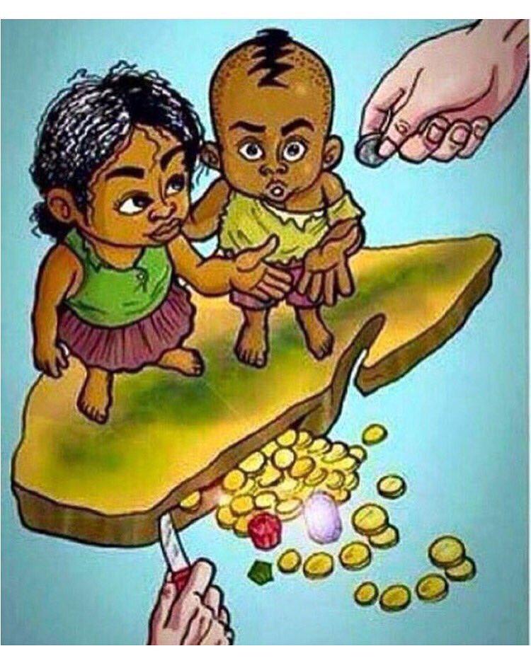 """""""L'Afrique n'est pas pauvre, on l' appauvrit. L'Afrique n'a pas besoin d'aide, elle a besoin de respect."""" #fatoudiome pic.twitter.com/kFsrCPpsW1"""