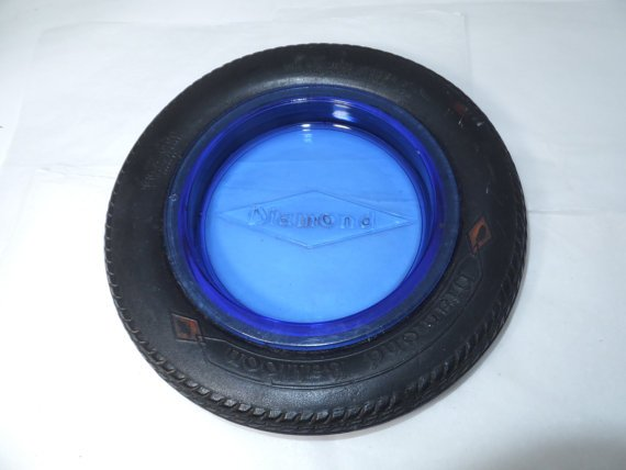 Ð Antique Diamond Balloon Tire Ashtray Advertising @duckwells #antique #vintagecar #oldcar  http:// etsy.me/1hpw6BO  &nbsp;  <br>http://pic.twitter.com/ARQIi6cCe9