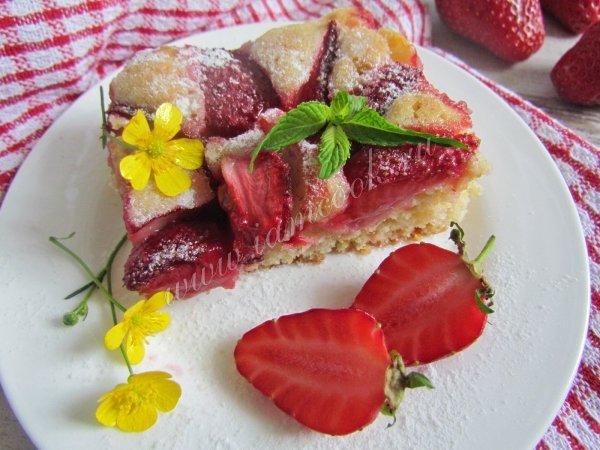 Рецепты пирогов с малиной