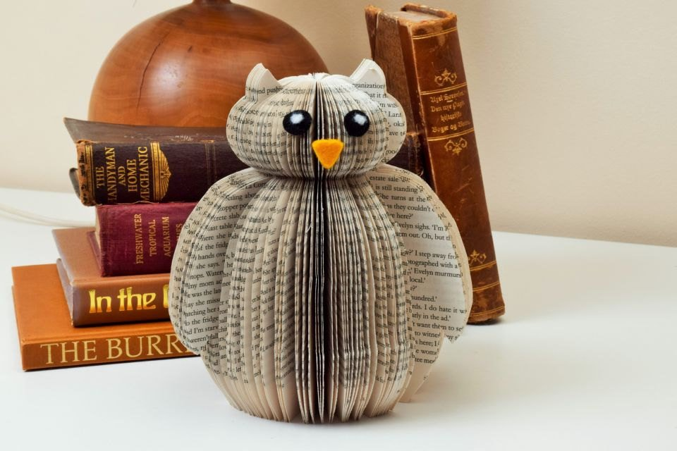 Owl Ornament - Owl Decor - Owl Gift - Paper Art -Paper Sculpture - …  http:// etsy.me/2mL01uy  &nbsp;   #Epiconetsy #womaninbiz<br>http://pic.twitter.com/KXKZxKjBWH