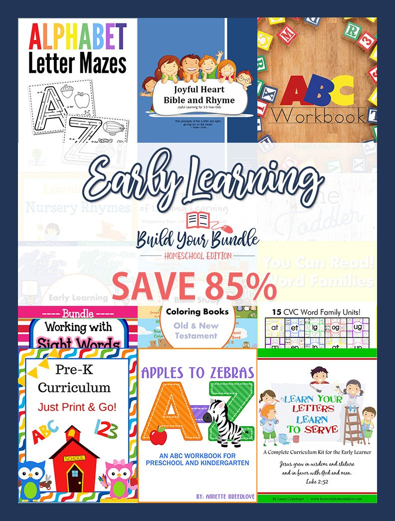 Got little ones? Don&#39;t miss the Early Learning Bundle! #preschool #prek #tots #moms #hsmoms #aff #hs #byb2017  http:// bit.ly/2qjIybJ  &nbsp;  <br>http://pic.twitter.com/20hiHBDOFV
