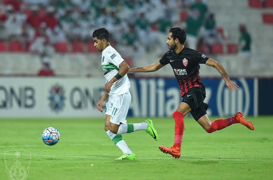 أهداف مباراة أهلي جده وأهلي دبي