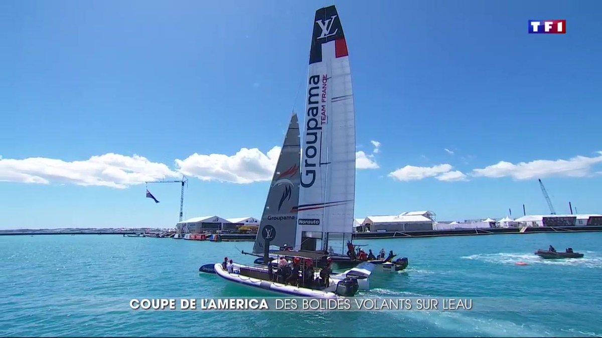 La Coupe de l'America, une compétition avec des bateaux à la pointe de la technologie https://t.co/ys2cOdxd0A