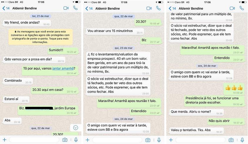 Exclusivo: ex-presidente do BB e Petrobras chama Joesley de 'my friend' e negocia chefia da Vale > https://t.co/1sSpVCR2sS