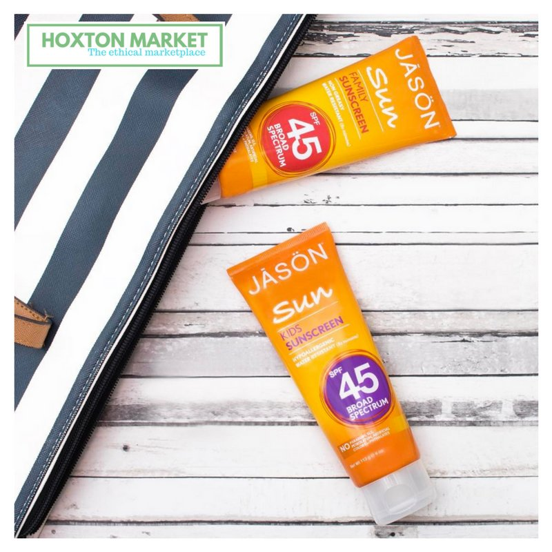 #vegan #mineral #chemical free #suncream @  http://www. hoxtonmarket.com  &nbsp;   20% of all profits go to support ethical charities.<br>http://pic.twitter.com/NiMXzfzca1