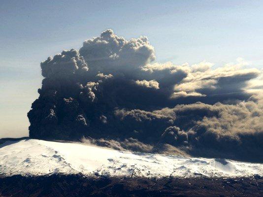 Alaska volcano erupts, triggers highest aviation warning https://t.co/JbkkE3QmWG