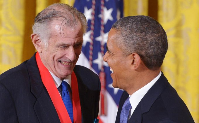 Frank Deford, iconic American sports writer, dies at 78. His wife says he died Sunday in Key West, Florida https://t.co/cF8H9u9xwF