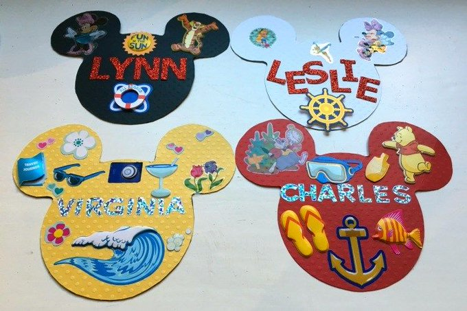 Easy DIY Disney Cruise Door Magnets