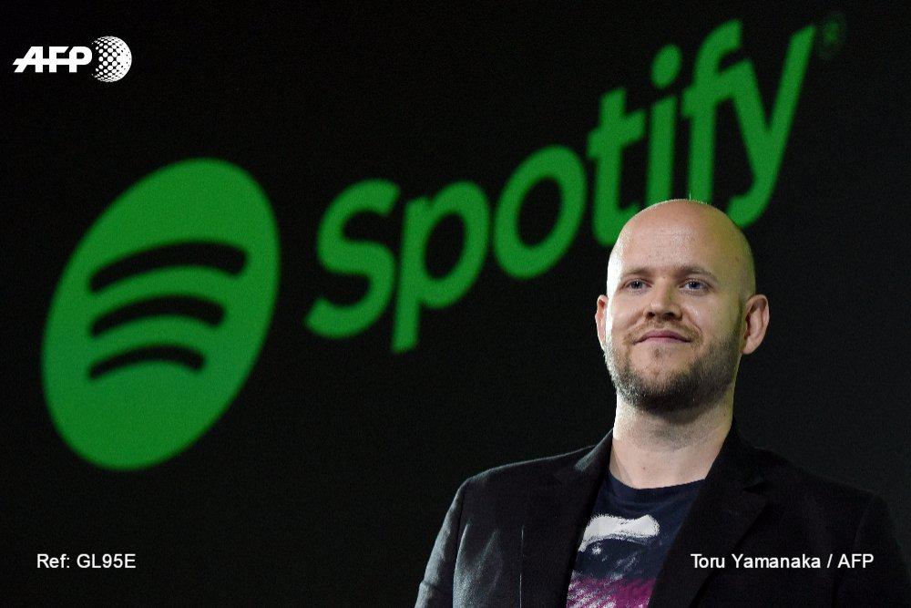 Spotify scelle un accord de droits avec des artistes américains https://t.co/0F7hCR8gLa #AFP
